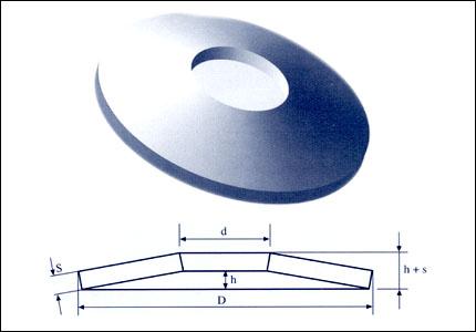 Podložka talířová 56,0x28,5x1,50 (DIN 2190)