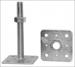 Patka pilíře s deskou volnou M16x100 80x80 (81PP14)