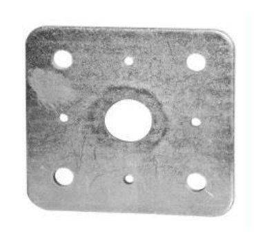 Horní deska patky pilíře s maticí M24 (81PPD1)