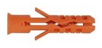 MNK nylonová hmoždinka s límcem 6x30