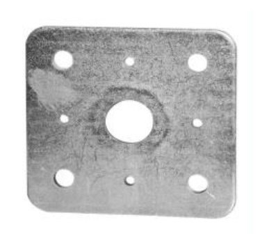 Horní deska patky pilíře bez matice otvor 25mm (81PPD1)