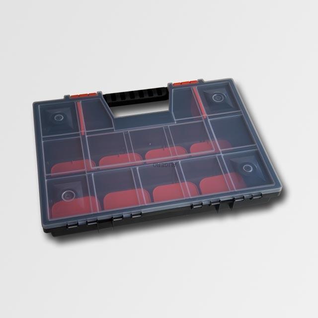 "Box plastový 16"" 390x285x65mm"